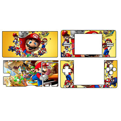 new Vinyl super MARIO case Cover Decal for Nintendo DS Lite Sticker NDSL -160