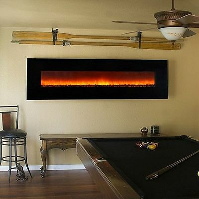"72"" W/MOUNT LINEAR ELECTRIC FIREPLACE; 1500 WT; SAFE CUTOFF; REMOTE; LED, CSA/UL"