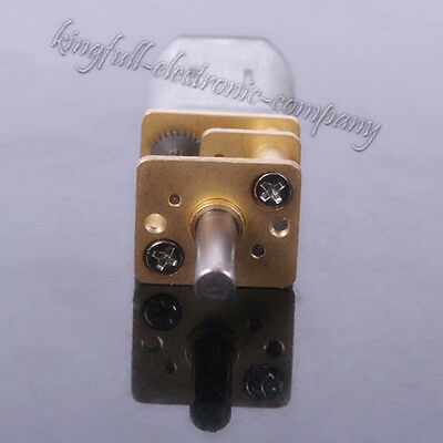 1Pcs 6V 100RPM Micro Torque Gear Box Motor High Quality