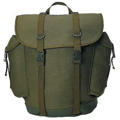 Bw German Military Mountain Rucksack Army Backpack Hiking Pack 25L Olive