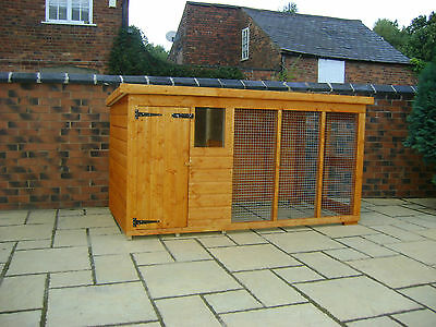 Dog Kennel And Run 10Ft X 4Ft