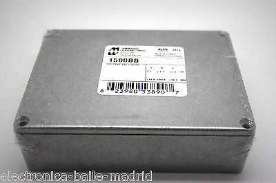 Genuine Hammond 1590Bb Stomp Box Diecast Enclosure Unfinished For Effect Pedals