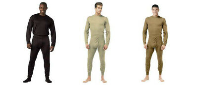 Underwear Long Johns Thermal  Military Gen III ECWCS Silk Weight Rothco