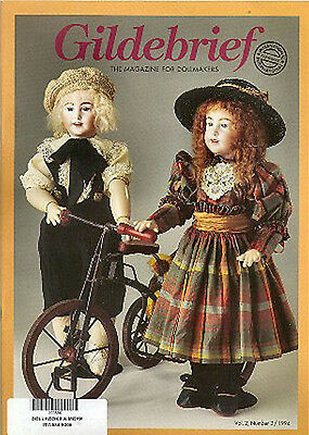 Gildebrief 5-2002 Dollmaking Antique Dress Patterns full size patterns