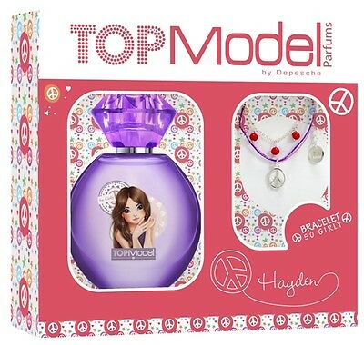 Coffret Hayden eau de toilette 30ml So Girly + bracelet - TOP Model
