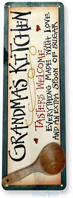 TIN SIGN Bed Breakfast Metal Décor Store Shop Home Hotel Farm Cottage B022
