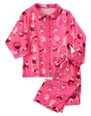 GYMBOREE OLIVIA COLLECTION Not Afraid Dark 2pc PAJAMAS 12 18 2 3 4 5 6 7 8 10 NW