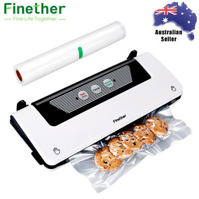 Vacuum Food Sealer Machine Storage Package Sous Vide Fresh Kitchen Bags Roll AU