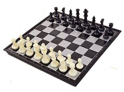 New Magnetic Folding Chess Board Portable Set High Quality Games Camping Travel