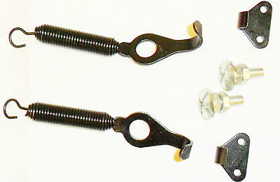 Competition Boot Bonnet Pins Panel Springs Loaded Fasteners Clips Racing Rally