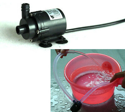 DC 6V 12V Micro Brushless Submersible Motor Water Pump F Solar Fountain Cooling