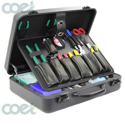 TFS-35E Fiber Optic  FTTH Fusion Splicing/Termination Toolkit, Incl. Cleaver