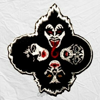 Kiss Rock and Roll Over Embroidered Patch Gene Simmons Paul Stanley Ace Frehley