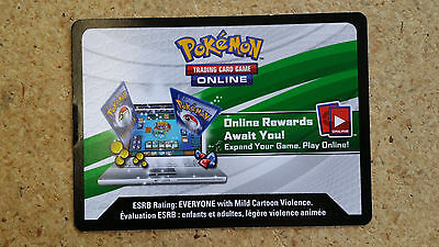 Unused Pokemon Gallade EX Collection Box Online CODE CARD for TCGO