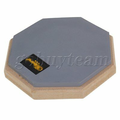"""Double Side Foam 6D Wooden Rubber 6"""" Pad for Dumb Drum Practicing Soft Feel"""