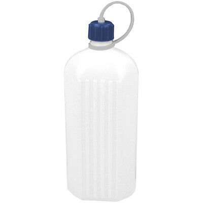 Highlander Hiking Poly Octagonal Plastic Bottle 1L Camping Water Drinking Flask