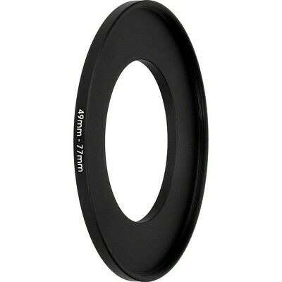 49mm to 77mm 49-77mm 49mm-77mm 49-77 mm Stepping Step Up Filter Ring Adapter UK