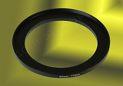 62mm to 77mm 62-77mm 62mm-77mm 62-77 Stepping Step Up Filter Ring Adapter