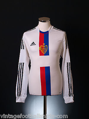 2012-14 FC Basel Adidas Player Issue Formotion Away Football Top Shirt *BNIB*