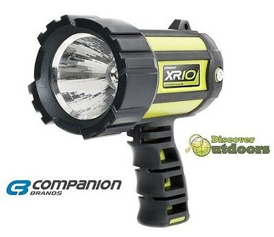 NEW Companion XR10 Rechargeable LED SPOTLIGHT Torch Flashlight CAMPING Hunting
