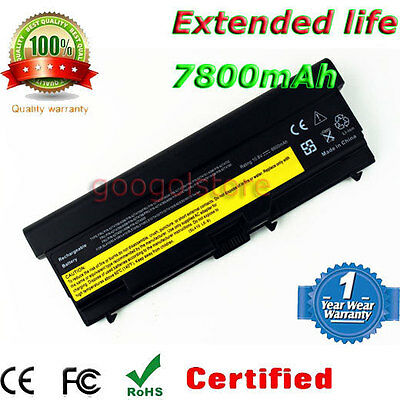 9 Cell Li-ion Battery for Lenovo ThinkPad T410 T410i W520 T520 T420 LAPTOP