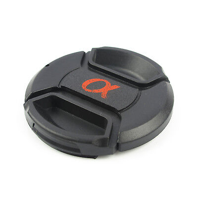 NEW 55 mm Snap-On Front Lens Cap For Sony Alpha DSLR Dust Safety Front Cover