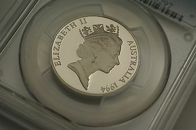 1994 PR68 DCAM Australian Proof 20c Twenty Cent PCGS Graded Coin