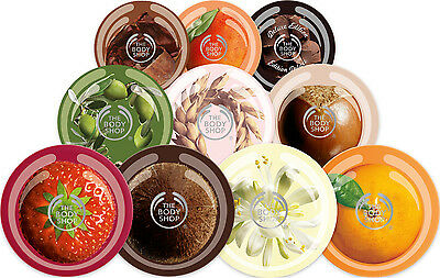 Body Shop Body Butter & Scrubs 50ml Travel & Huge 200ml Various Flavours - NEW