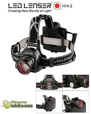 NEW LED Lenser H14.2 Series 2 Headlamp Torch MINING - Head Torch 350 LUMENS