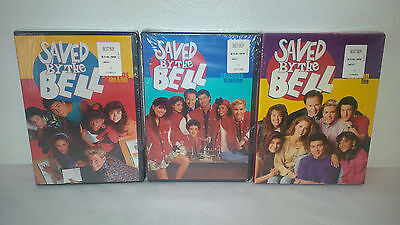 NEW Saved By The Bell Seasons 1 - 5 Seasons 1,2,3,4,5 DVD