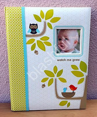 Carters Woodland Owls Nature Baby Boy Girl Gender Neutral Memory Keepsake Book