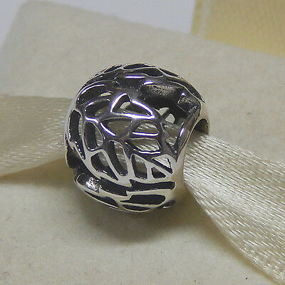 New Authentic Pandora 791190 Sterling Silver Autumn Bliss Bead Box Included