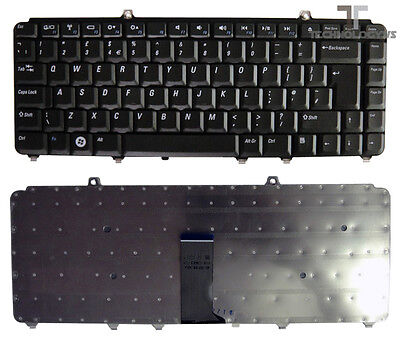 New Dell Inspiron 1540 1545 Genuine Notebook Laptop Keyboard Black Uk Layout