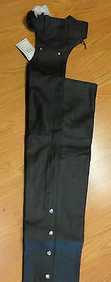 Deal 3 Leather Motorcycle Chaps 3 Fingerless Gloves