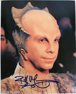 "Bill Mumy - Babylon 5 - AUTOGRAPHED 8""x10"" Photo - Lost In Space Child Star"