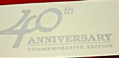 Toyota Landcruiser 40Th Anniversary Decal Rear 80 Series New Genuine