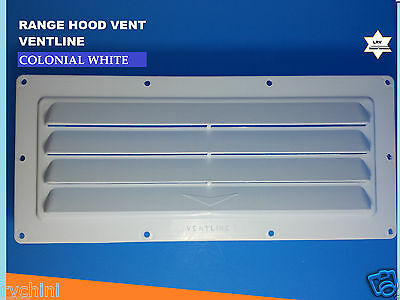 RV Mobile Ventline Exterior Sidewall Vent Range Hood Stove Vent Colonial White