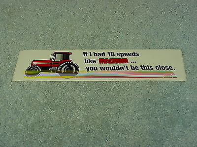 Case Ih International Harvester Magnum Tractor Bumper Sticker
