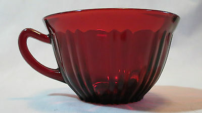 Anchor Hocking Royal Ruby Red Old Café Cup(s)