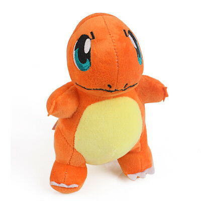 Pokemon Center Lovely Charmander Plush Toy Stuffed Doll Figure Gift 6.5""