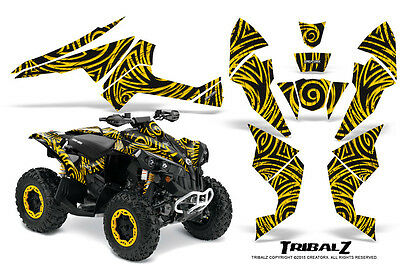 Can-Am Renegade Creatorx Graphics Kit Decals Stickers Tribalz Y