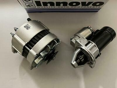 Ford Cortina /kit Car 1.6 2.0 Ohc Pinto New Starter Motor  + 55Amp Alternator