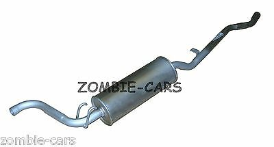 New Citroen C3 MK1 1.6 16V Genuine EEC Exhaust Pipe Back Box Rear End Silencer