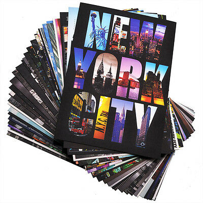 New 30 Various New York / NY Photo Postcards 4 x 6 inch - Set A Pack of 30