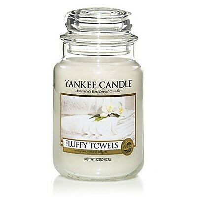 Yankee Candle Fluffy Towels Scented Large Jar