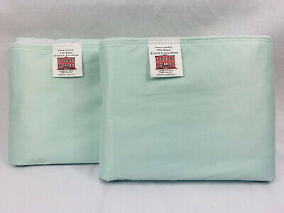 REUSABLE UNDERPAD Green Lot of(2) Heavy Duty 32x35 Washable Incontinence Bed Pad