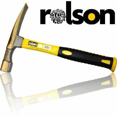 Rolson 22oz Double Ended Scutch Hammer / Brick & Masony Chisel for Bricklayers
