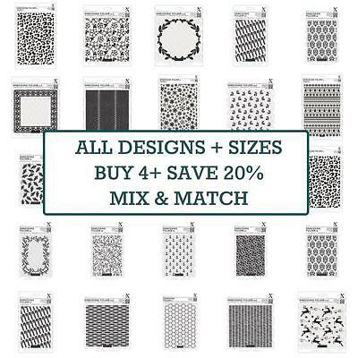 Docrafts Embossing Folders Papermania & Xcut - ALL SIZES + DESIGNS