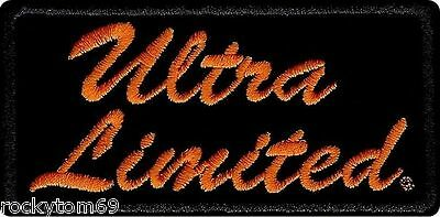 "EM1061642 - Harley-Davidson® Ultra Limited Patch. SM, 4"" W X 2"" H"