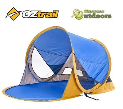 NEW OZtrail Pop Up BEACH DOME Shelter Tent -Great for Toddlers Camping SUN SHADE